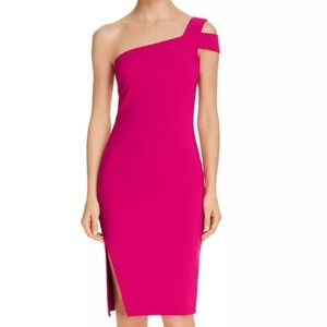 Likely Dresses - NWT LIKELY Cerise Packard one-shoulder dress, sz 4